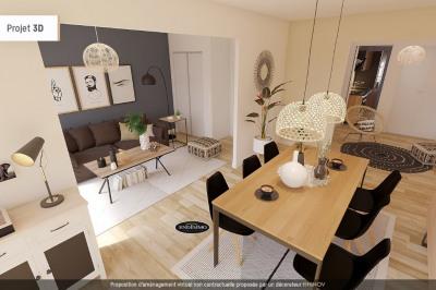 Apartment 2/3 rooms of 57 m² in Saint-Laurent-du-Var