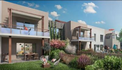 T4 en duplex de 81,58 m² sur Chassieu