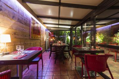 Restaurant sur la route des vins
