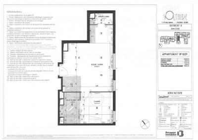 Appartement T2 avec parking neuf