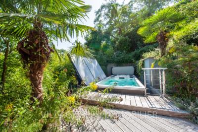 Marly le roi- villa avec jardins