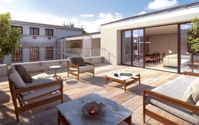 Appartement 4 pièces avec terrasse, Place Bellecour