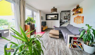 SILLINGY - Actuel et confortable 3 pièces en duplex avec jardin