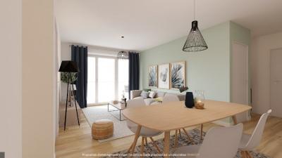 T3 talence - 3 pièce (s) - 62 m²