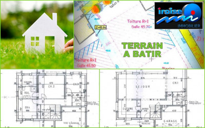 Terrain à bâtir de 418 m²