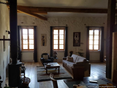 Vaste maison de maître avec chambres d'hôtes