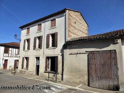 Maison de village granges sur lot - 4 pièces - 95 m²