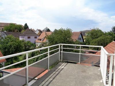 Lumineux comble F2 avec terrasse