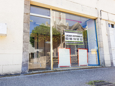 Local commercial Quimper 72 m²