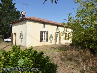 Maison en pierre 2 ch a finir de rénover- 3 pièces- 88 m²