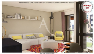 Appartement Blagnac-Odyssud 3/4 pièces 90 m² - Parking