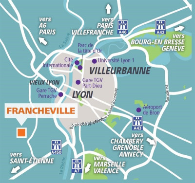 Vente neuf programme Francheville (69340)