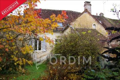 Maison ancienne st sauveur en puisaye - 2 pièce (s) - 57 m²