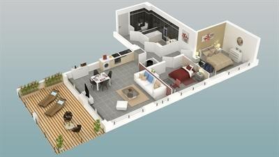 New home sale program Albitreccia  - Picture 6