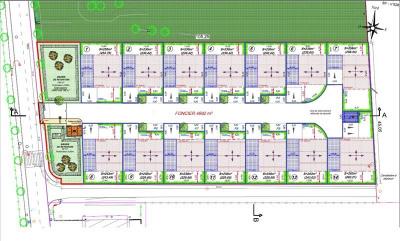 Terrain a bâtir carpentras - 239 m² - lot 6
