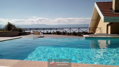 Villa avec Somptueuse vue lac