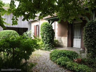 Maison de village castelmoron sur lot - 3 pièce (s) - 60 m²