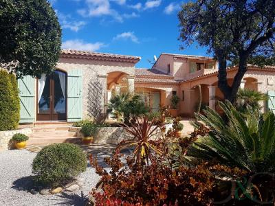 La Londe Les Maures villa Provençale de plain-pied avec vue