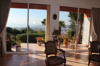 Nice Grande Corniche Villa 6 pièces vue mer et piscine
