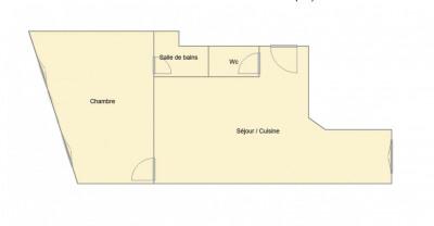 Appartement 2 pièces 42m² proche So Ouest