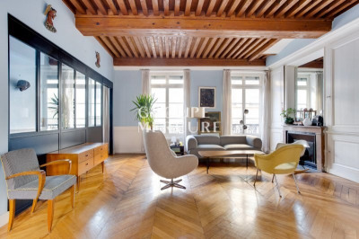 LYON 2nd AINAY - FABRIC MUSEUM - REMARKABLE APARTMENT 144 m2