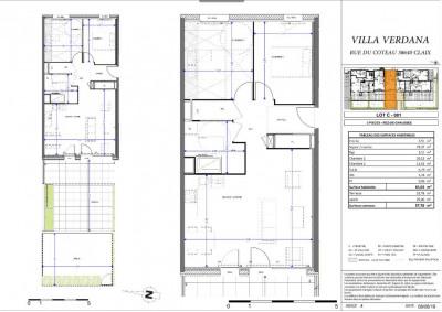 Vente appartement Claix (38640)
