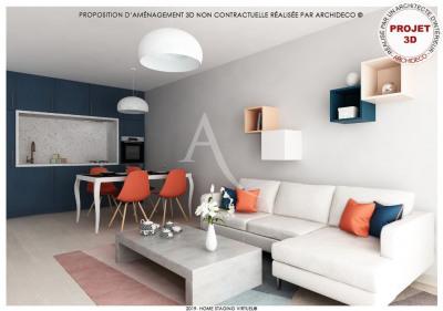 Appartement Colomiers 3 pièce (s) 63.14 m²