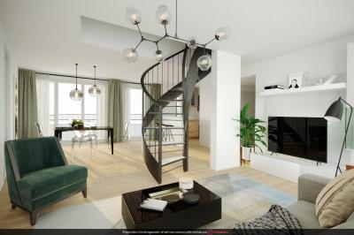 Duplex en dernier étage avec terrasse