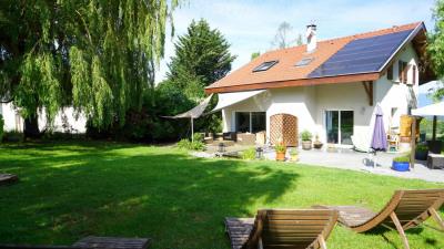 Maison individuelle 150 m² utiles sur beau terrain arboré, 133 m² - Neydens (74160)