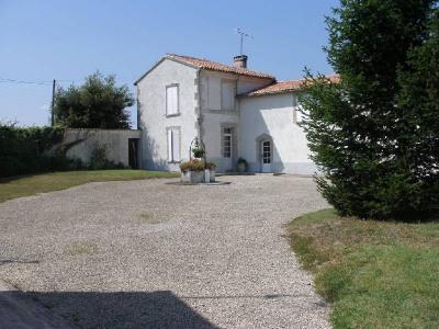 Old house 9 rooms Secteur Gensac la Pallue