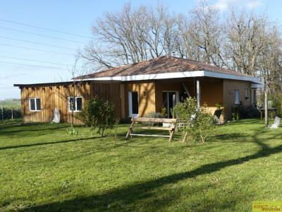 Maison ossature bois, vue exceptionnelle