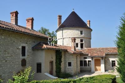 A vendre - petit château - ain, proximité bourg-en-bresse re