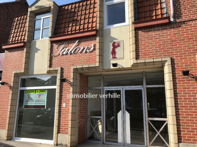 Local commercial centre Fleurbaix 141 m²