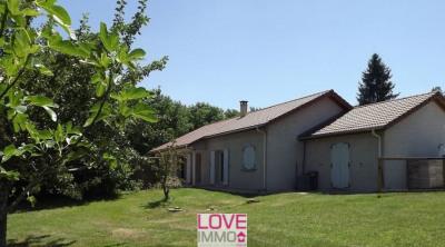 Maison plain pied de 127 m², cadre champêtre