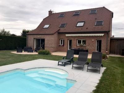 Exclusif: Maison individuelle avec piscine