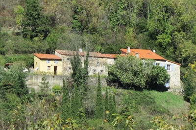 Vallespir mas catalan sur 82 ha forêts et landes