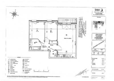 Appartement T3 avec parking et terrasse