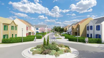 Ablis - terrains a bâtir viabilisés - a partir de 73 000 euros