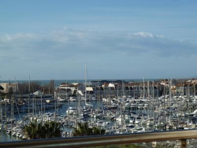 Carnon plage - T4 vue port et mer