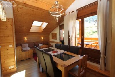 4 Pièces Duplex Edelweiss de 60.91m² skis aux pieds à Flumet, do