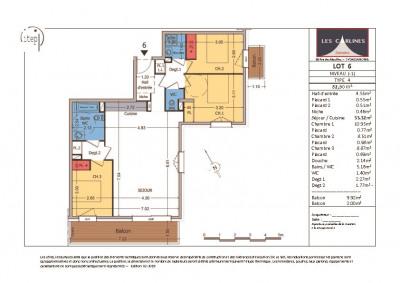NEUF: Samoën Centre - Appartement 4 pièces 83 m²