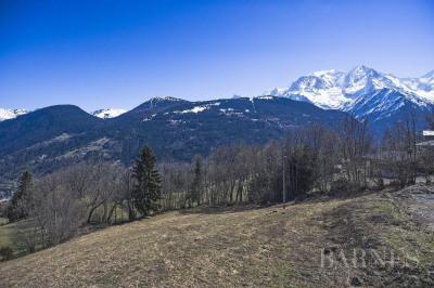 Terrain à bâtir à 2 minutes du Bettex et des pistes de ski, vue