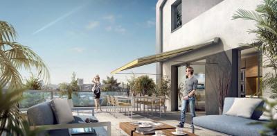 Vente T5 dernier étage grande terrasse