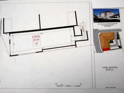 Local commercial de 68 m²