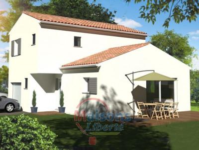 Terrain 440m² + maison 100 m² + garage