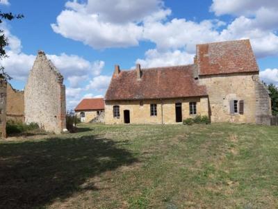Ancien prieuré et Chapelle (base XIVe) ~Partie habitable déjà