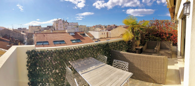 RARE. Cannes 50m de La Croisette. Dernier étage avec terrasse Cannes