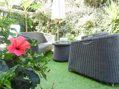 Appartement T3 avec terrasse et jardin à 600m de la plage