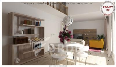 Appartement récent auxerre - 4 pièce (s) - 112 m²