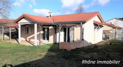 Maison de plain pied - Jonage- 5 pièces- 101 m²